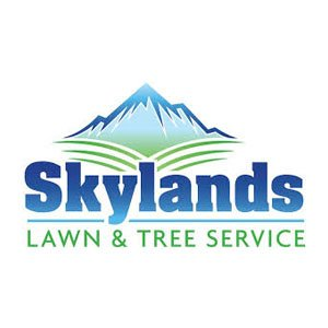 Skylands Lawn and tree